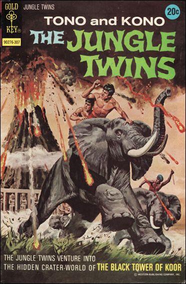 Jungle Twins 6-A by Gold Key