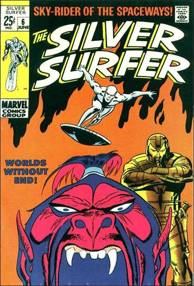 Silver Surfer (1968) 6-A by Marvel