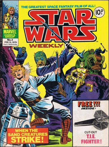 Star Wars Weekly (UK) 2-A by Marvel UK