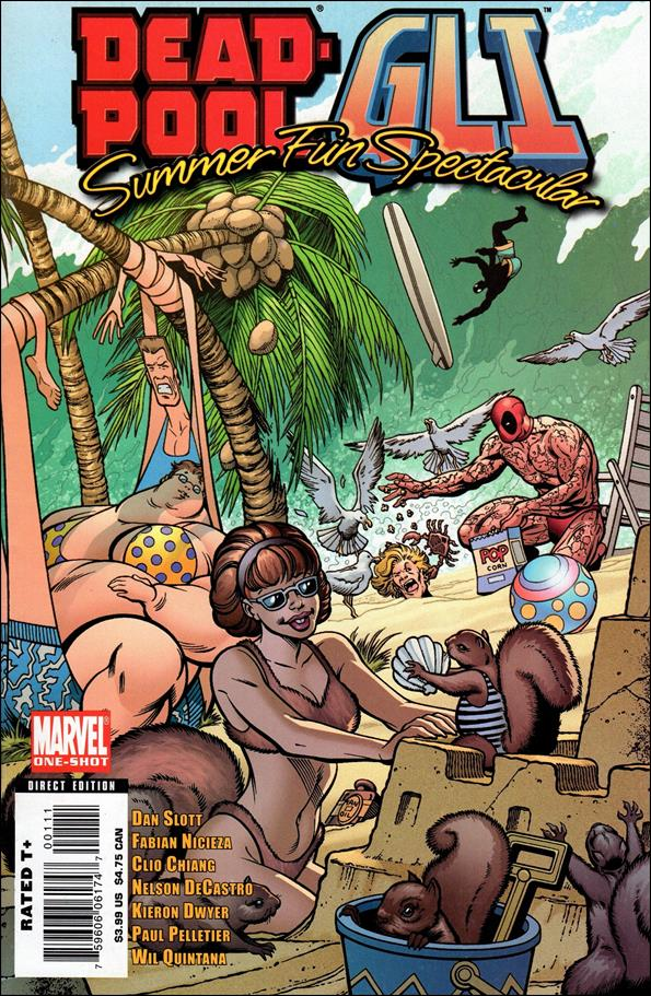 Deadpool/GLI - Summer Fun Spectacular 1-A by Marvel