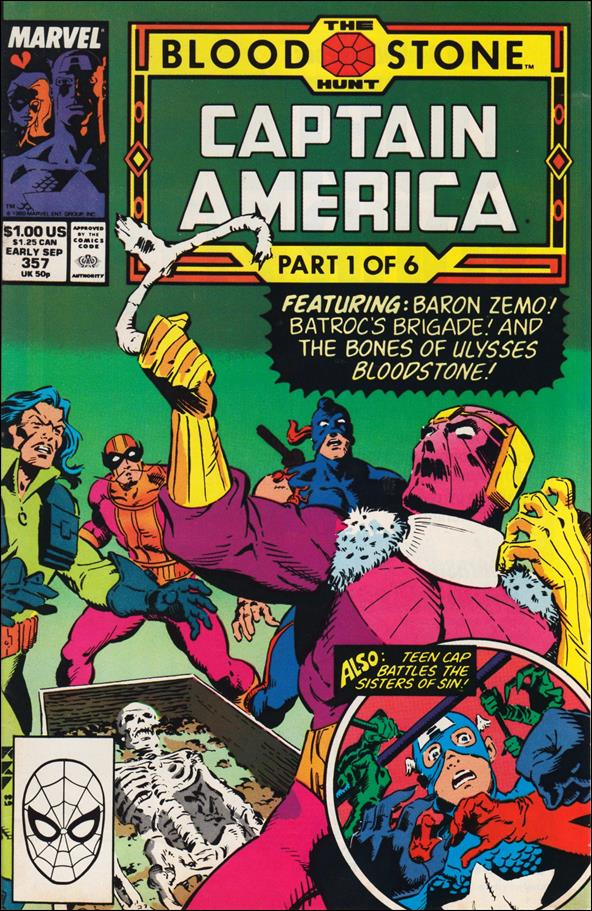 Captain America (1968) 357-A by Marvel
