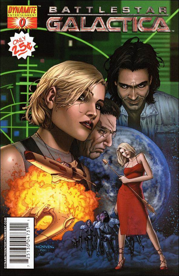 Battlestar Galactica (2006) 0-A by Dynamite Entertainment