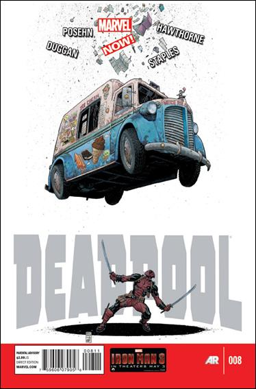 Deadpool (2013) 8-A by Marvel