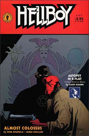 Hellboy: Almost Colossus 1-A by Dark Horse
