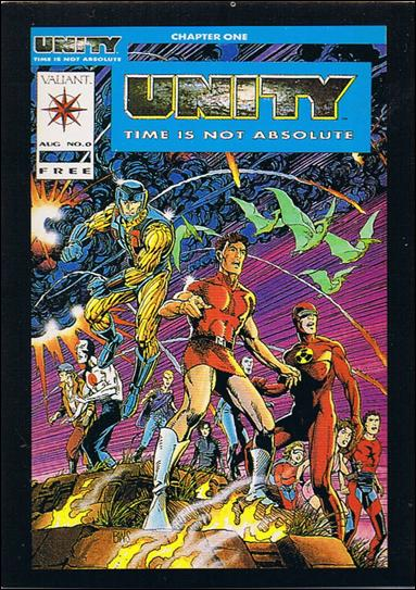 Unity (Base Set) 1-A by Comic Images