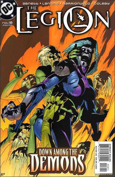 Legion (2001) 18-A by DC