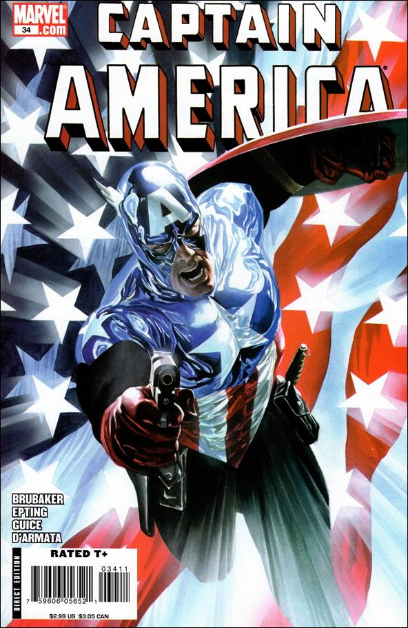 Captain America (2005) 34-A by Marvel