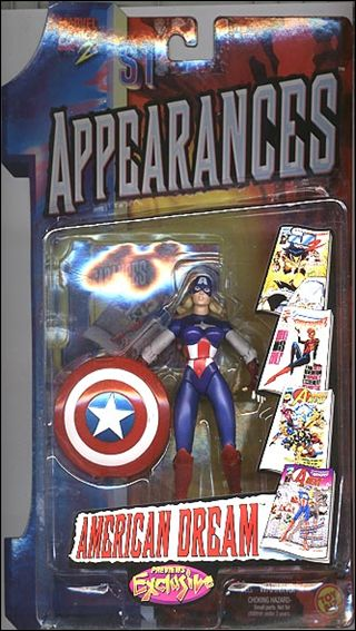 1st Appearances American Dream by Toy Biz