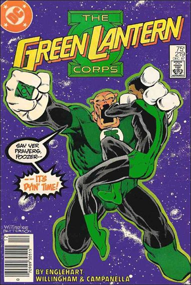 Green Lantern Corps (1986) 219-A by DC