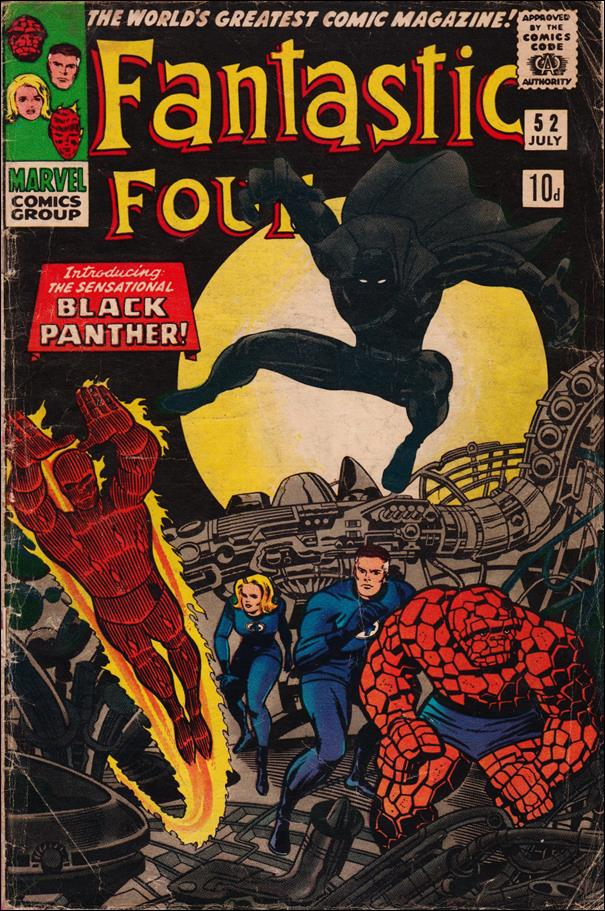 Fantastic Four (1961) 52-B by Marvel