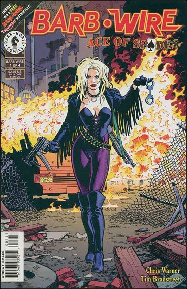 Barb Wire: Ace of Spades 1-A by Dark Horse