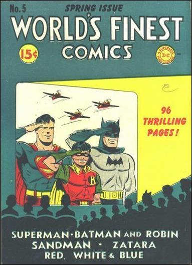 World's Finest Comics 5-A by DC