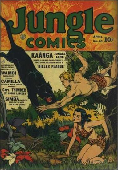 Jungle Comics (1940) 40-A by Fiction House Magazines