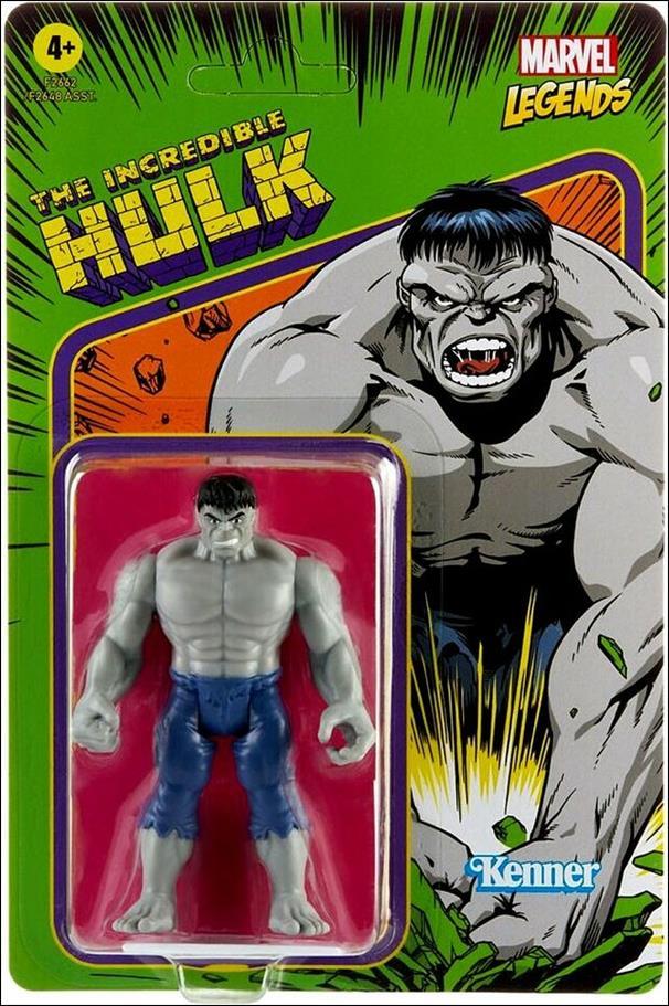 Marvel Legends Retro (3.75 inch Series) Incredible Hulk (Grey) by Hasbro