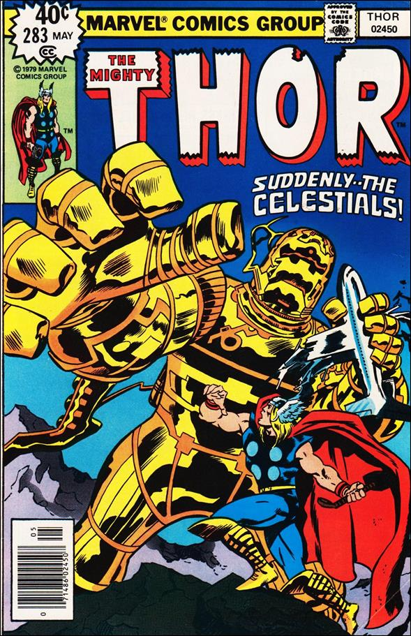 Thor (1966) 283-A by Marvel