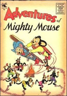 Adventures of Mighty Mouse (1952) 18-A by St. John