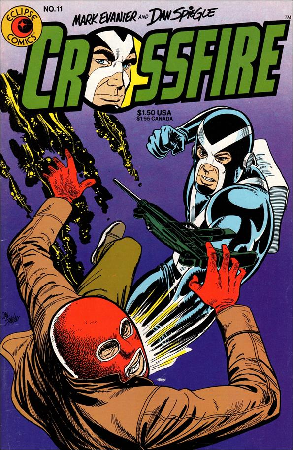 Crossfire (1984) 11-A by Eclipse