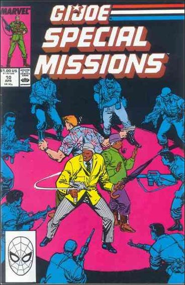 G.I. Joe: Special Missions (1986) 10-A by Marvel