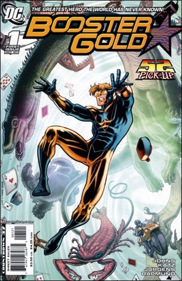 Booster Gold (2007) 1-B by DC