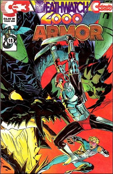 Armor (1993) 3-A by Continuity Comics