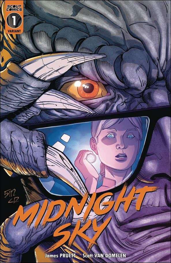 Midnight Sky 1-C by Scout Comics