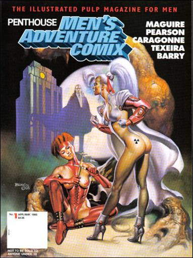 Penthouse Men's Adventure Comix 1-B by Penthouse