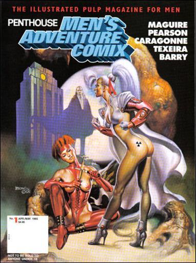 Penthouse Men's Adventure Comix 1-B by Penthouse