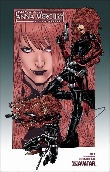 Anna Mercury 1-F by Avatar Press