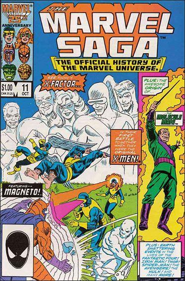 Marvel Saga 11-A by Marvel