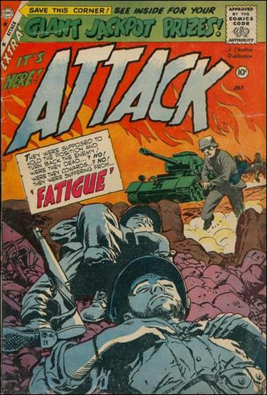 Attack (1958) 58-A by Charlton