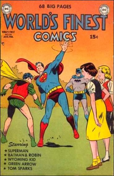 World's Finest Comics 56-A by DC