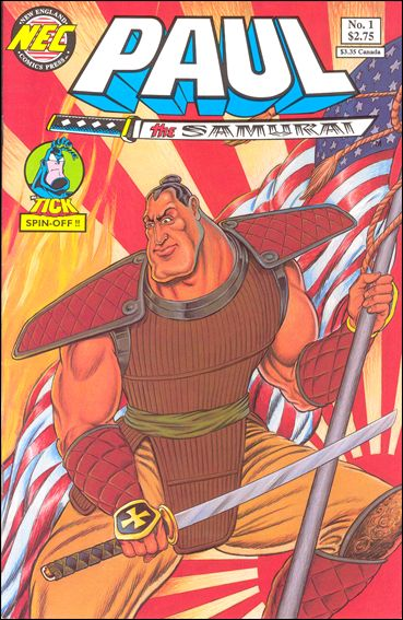 Paul the Samurai (1992) 1-A by New England Comics Press (NEC / NECP)