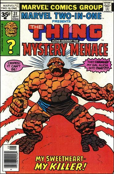Marvel Two-in-One (1974) 31-B by Marvel