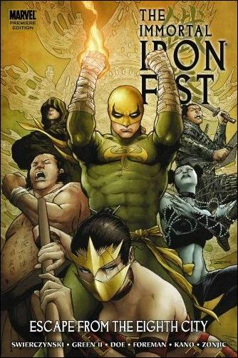 Immortal Iron Fist  5-A by Marvel