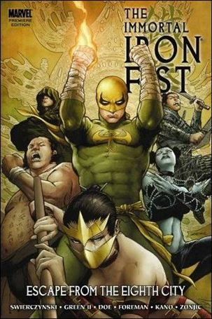 Immortal Iron Fist  5-A