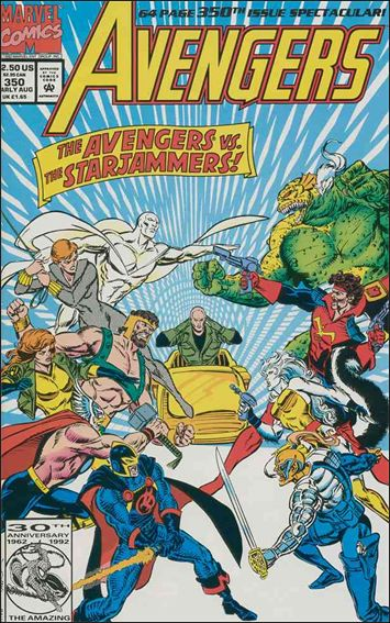 Avengers (1963) 350-A by Marvel