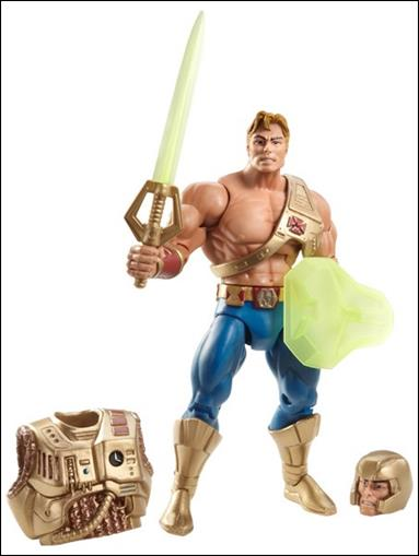Masters of the Universe Classics He-Man (New Adventures) Loose by Mattel