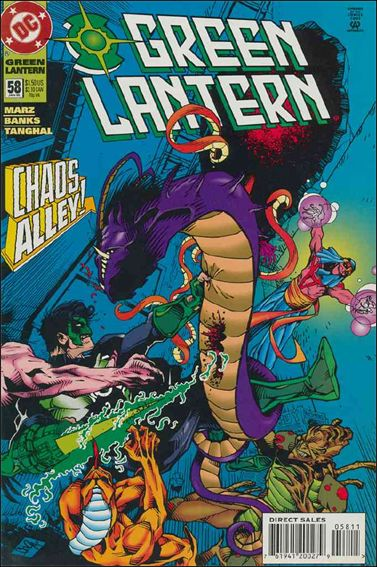 Green Lantern (1990) 58-A by DC