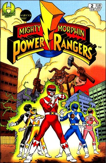 Saban's Mighty Morphin Power Rangers (1994) 2-A by Hamilton Comics
