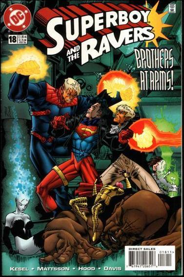 Superboy & The Ravers 18-A by DC