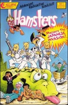 Adolescent Radioactive Black Belt Hamsters: Massacre the Japanese Invasion 1-A by Eclipse