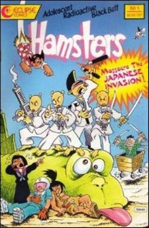 Adolescent Radioactive Black Belt Hamsters: Massacre the Japanese Invasion 1-A