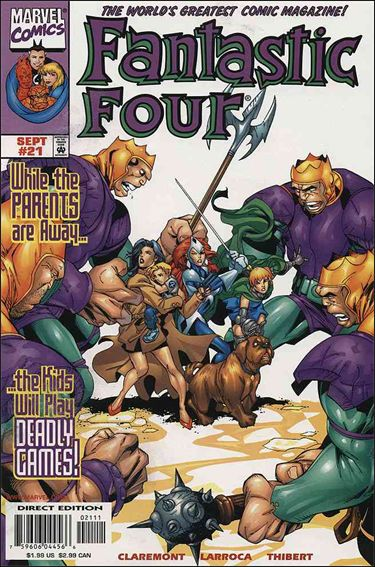 Fantastic Four (1998) 21-A by Marvel