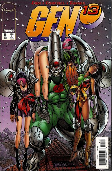 Gen13 (1995) 16-A by WildStorm