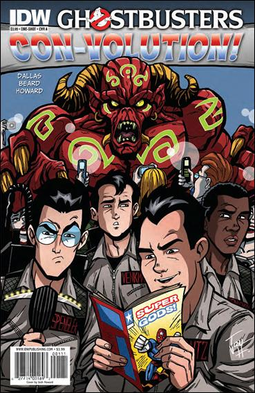 Ghostbusters: Con-Volution 1-A by IDW