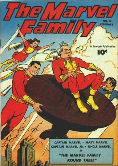 Marvel Family 8-A by Fawcett
