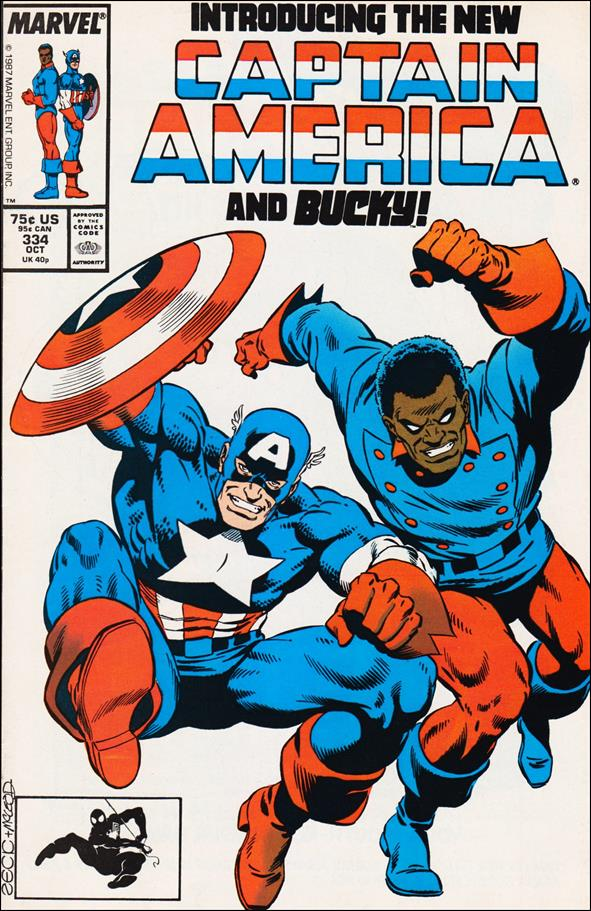 Captain America (1968) 334-A by Marvel