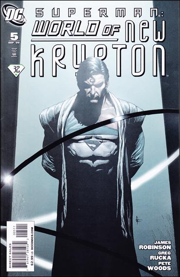 Superman: World of New Krypton 5-A by DC
