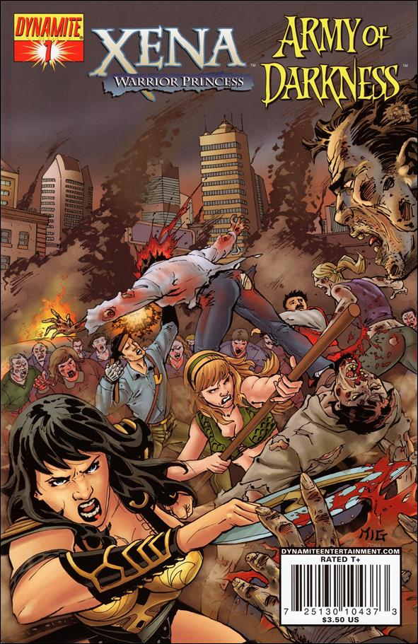 Xena/Army of Darkness: What...Again?! 1-B by Dynamite Entertainment