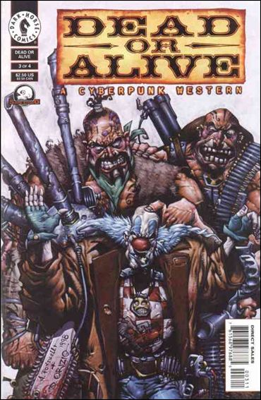 Dead or Alive-A Cyberpunk Western 3-A by Dark Horse